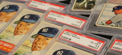 Mickey Mantle Baseball Cards - 1952 Topps Rookie!